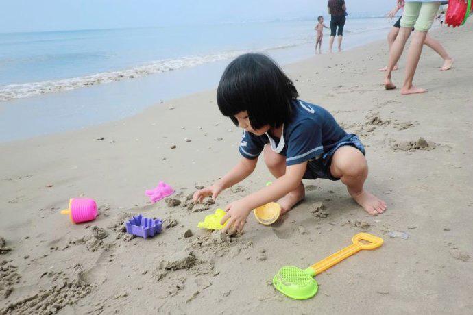 沙滩风景手工制作图解